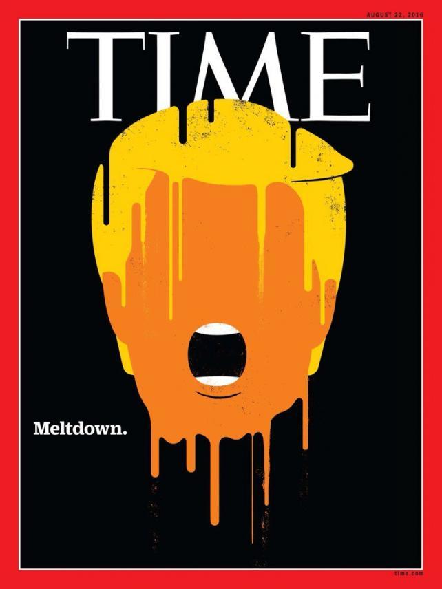 trump time melt