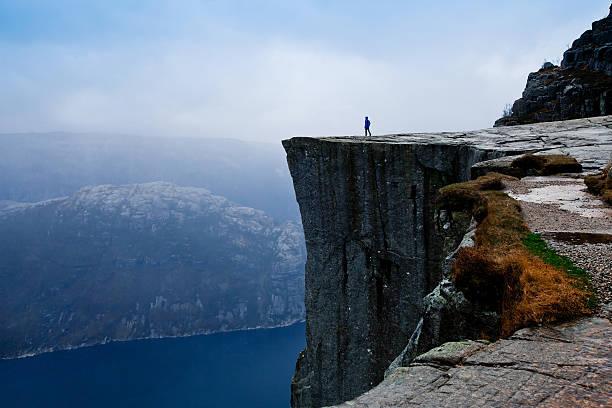 cliff fjord