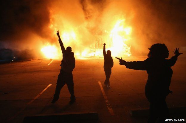 race wars ferfuson riots